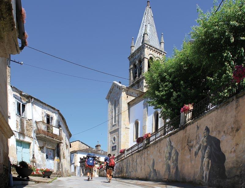 El camino de santiago desde sarria iperegrinos for Ruta del mueble sarria